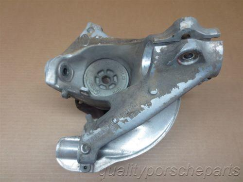05 Boxster S RWD Porsche 987 L Front HUB STEERING KNUCKLE 99734165705 19,083