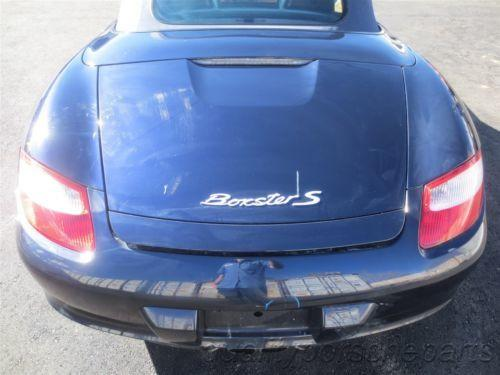 05 Boxster S RWD Porsche 987 Parting Out car parts 89,748