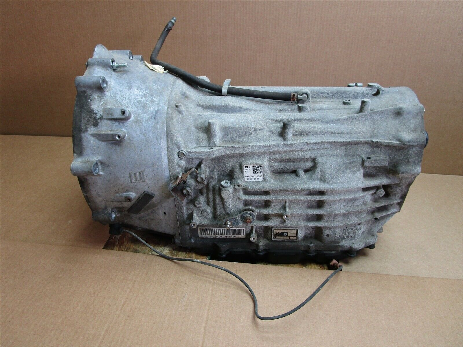 06 Cayenne S AWD Porsche 955 AUTOMATIC TRANSMISSION JAA 09D300038G 66,370