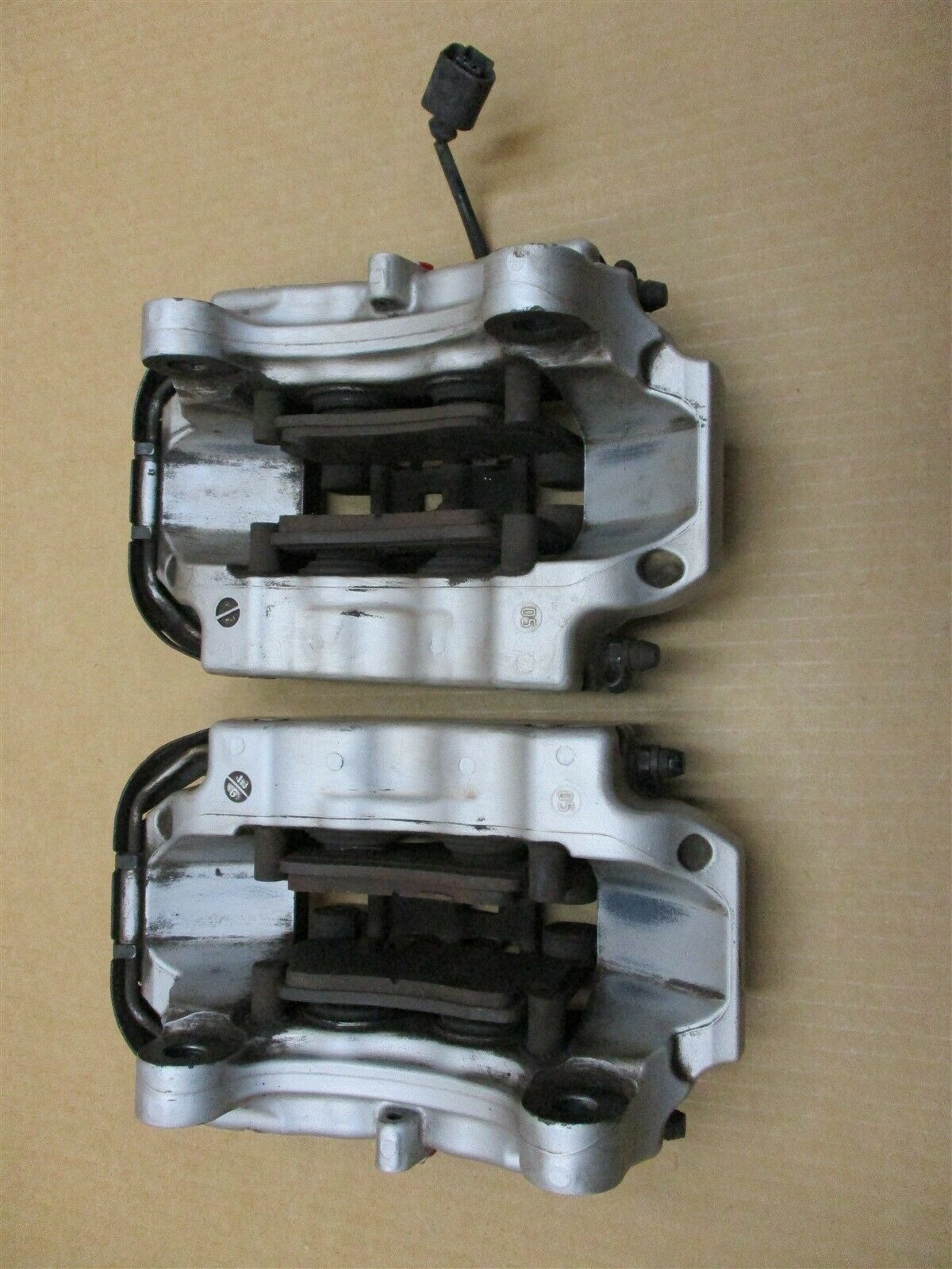 06 Cayenne S Porsche 955 REAR BREMBO BRAKE CALIPERS 207673044A 207673032 153,708