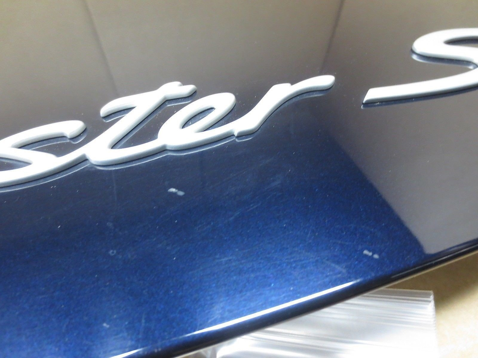 06 Porsche 987 997 BOXSTER S Blue REAR HOOD LID back trunk cover 30,316