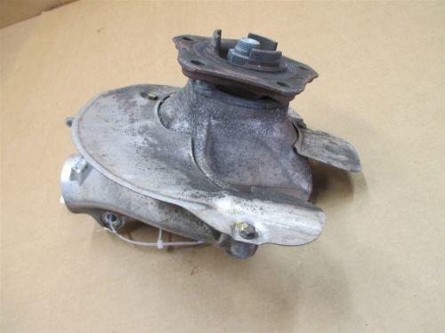 07 Boxster S RWD Porsche 987 L Front HUB STEERING KNUCKLE 99734165705 30,563