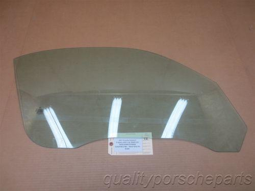 07 Carrera 4 911 AWD Porsche 997 Cabrio R Front Door WINDOW GLASS PANE 69,861