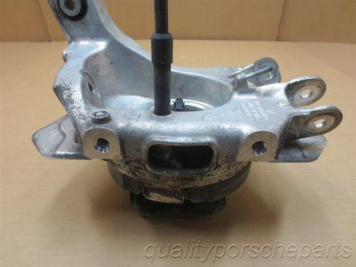 07 Carrera 4 911 AWD Porsche 997 L Rear HUB STEERING KNUCKLE 99733161107 69,861