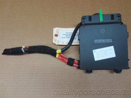 07 Carrera 911 Porsche 997 Cabrio MAIN WIRE HARNESS CONTROL UNIT MODULE 24,088