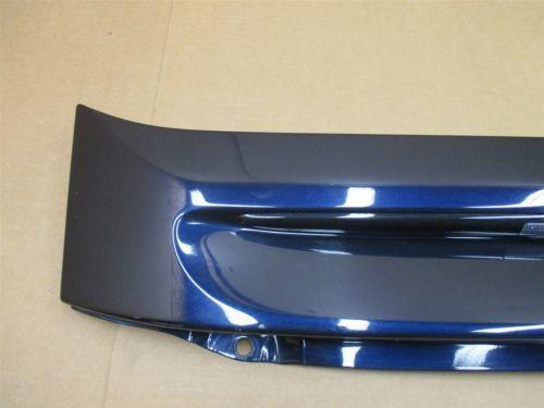 07 Carrera S RWD Porsche 997 Coupe Blue Rear TRIM COVER PANEL + TAILLIGHT 33,655