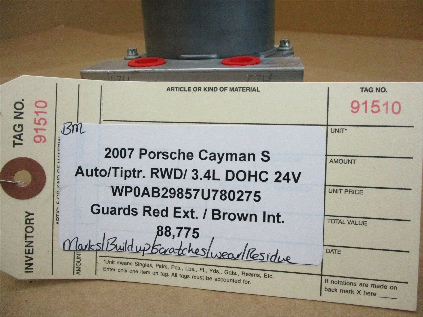 07 Cayman S RWD Porsche 987 ANTI LOCK ABS BRAKE PUMP 98735575505 88,775