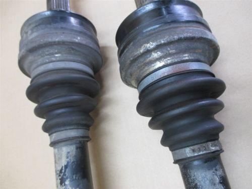 08 Boxster RWD Porsche 987 R L Rear AXLE SHAFTS DRIVE transmission 76,786