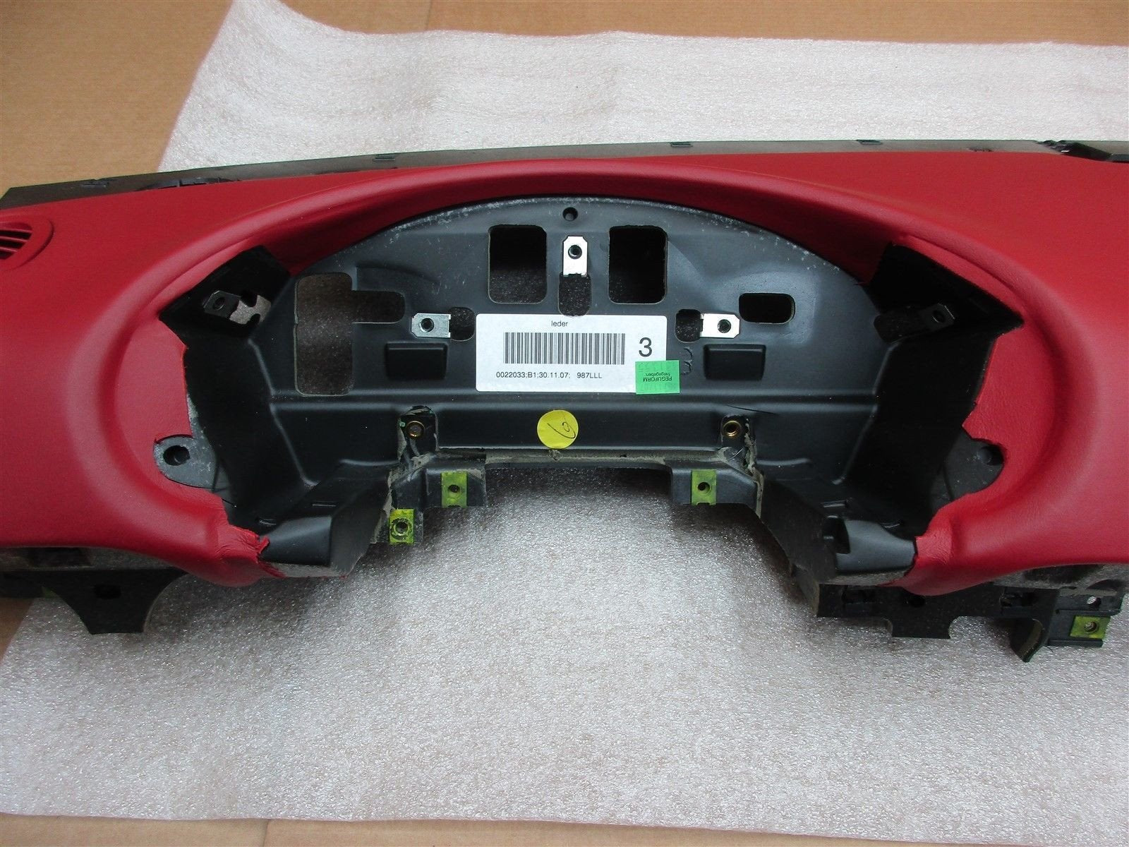 08 Boxster S Limited EDITION Porsche 987 DASH BOARD TRIM 98755210117 49,923