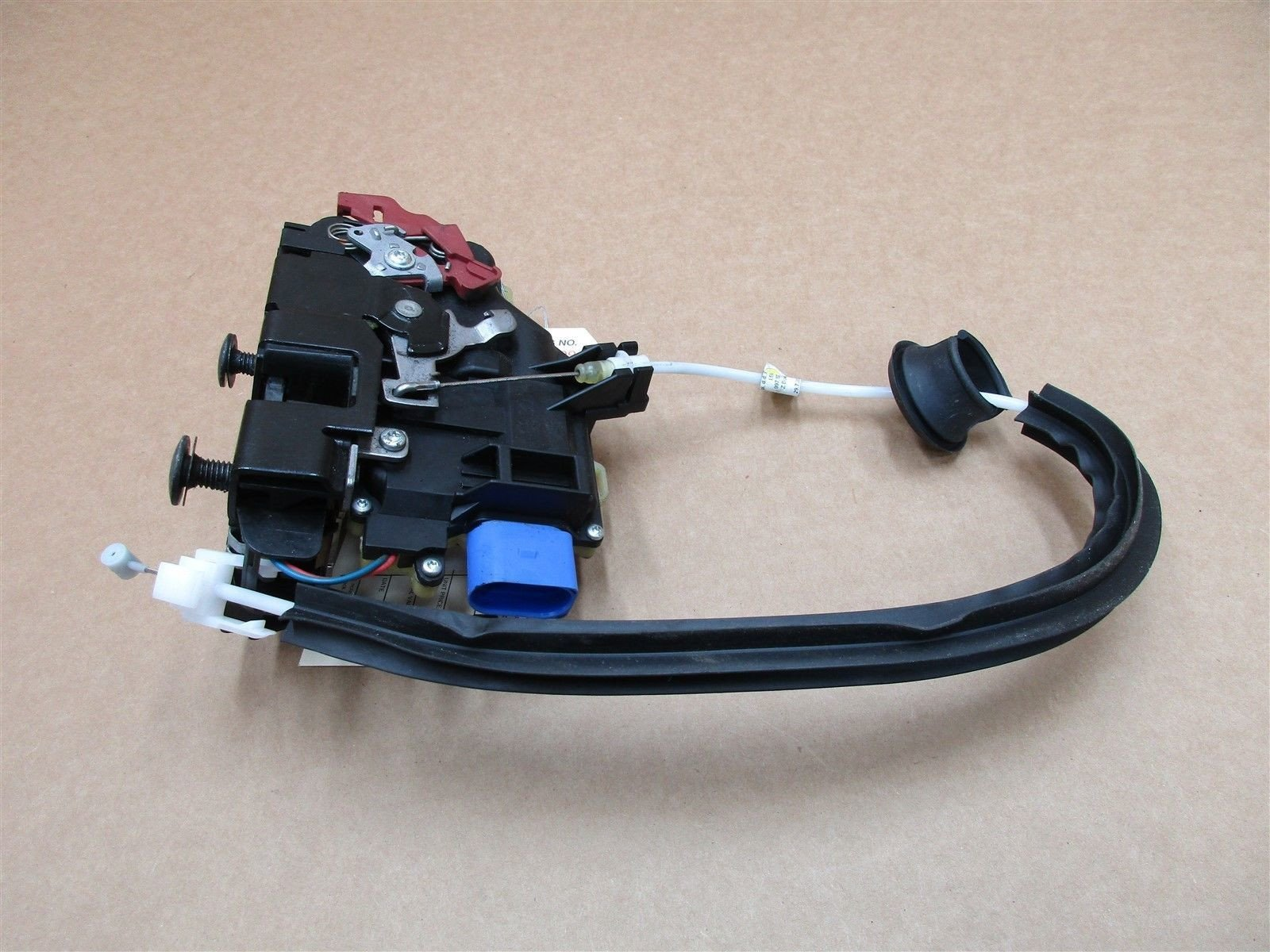 08 Boxster S Limited EDITION Porsche 987 L DOOR Lock Latch ACTUATOR 68,494