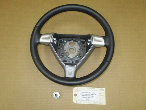 04 Cayenne S AWD Porsche 955 3 SPOKE STEERING WHEEL AIR BAG 7L5971411 146,861