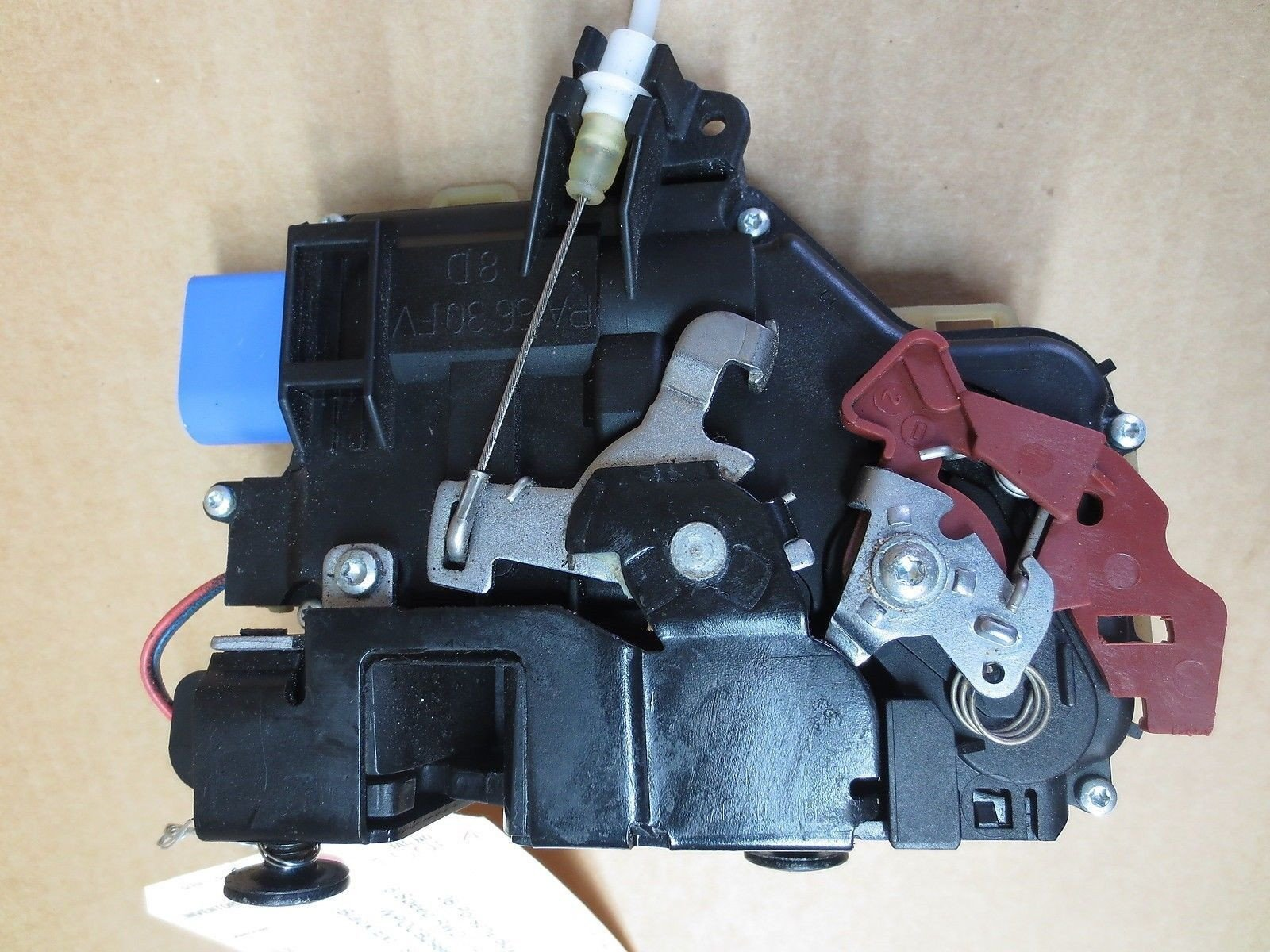 08 Boxster S RWD Porsche 987 Convertible R Door Latch Lock ACTUATOR right 39,614