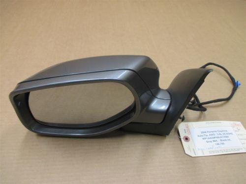 08 Cayenne AWD Porsche 957 L Gray Exterior Side REAR VIEW MIRROR 146,765