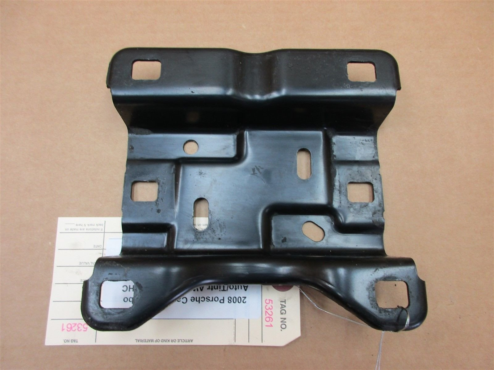08 Cayenne Turbo AWD Porsche 957 DRIVE SHAFT MOUNTING BRACKET 7L0521378A 91,569