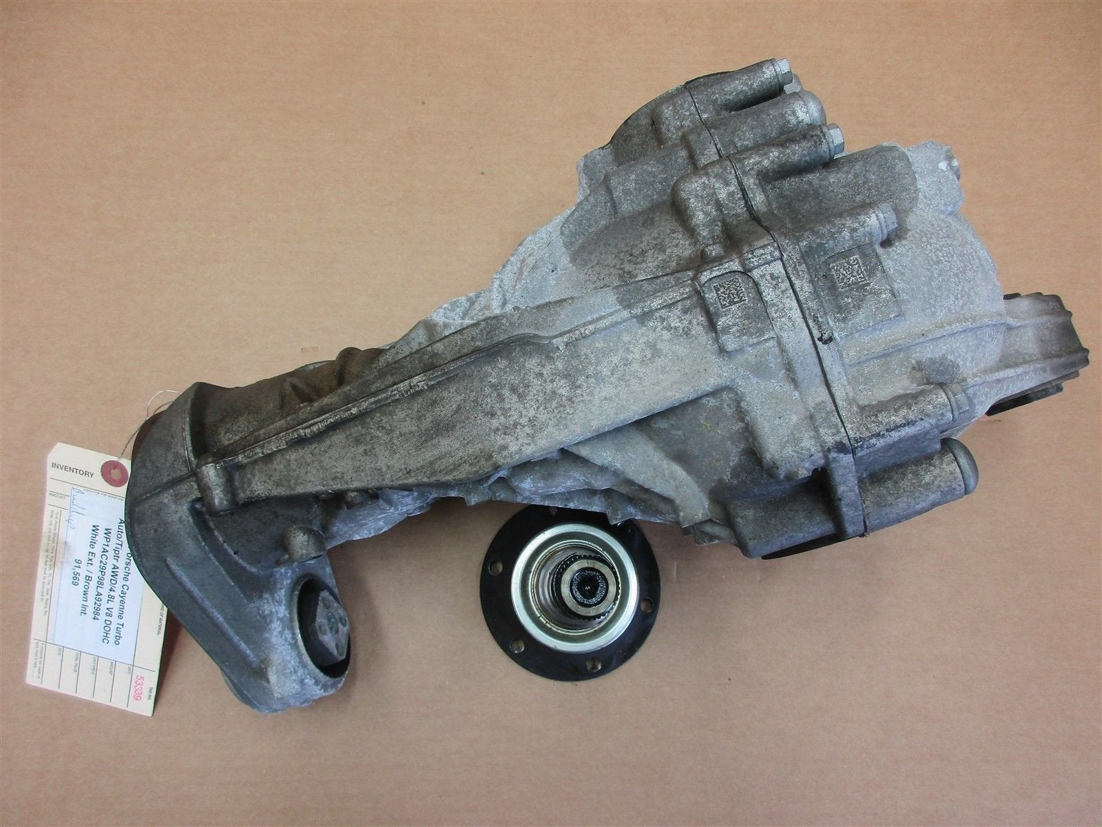 08 Cayenne Turbo AWD Porsche 957 FRONT DIFFERENTIAL 4460310021 91,569