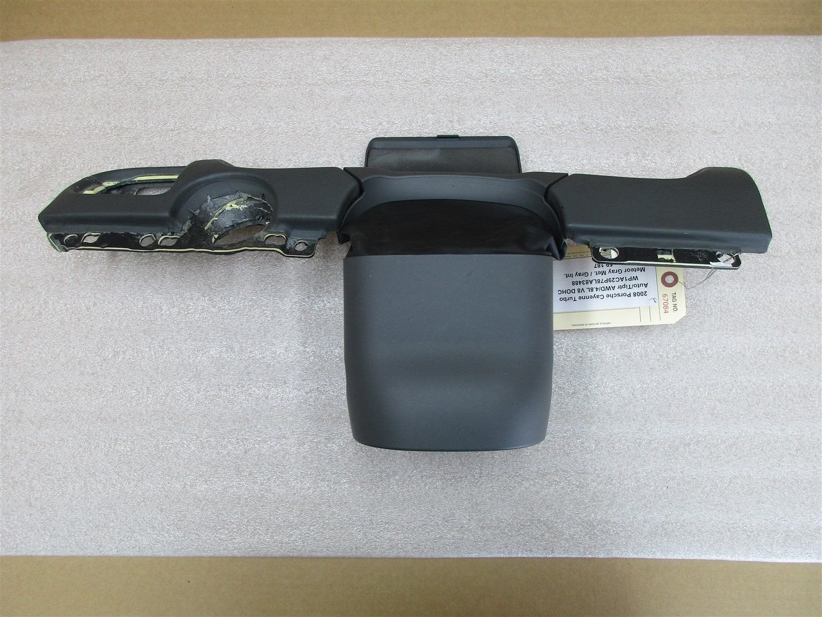 08 Cayenne Turbo AWD Porsche 957 STEERING COLUMN COWL TRIM 7L5953516C 59,187
