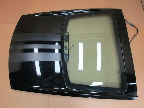 07 Cayman S RWD Porsche 987 REAR EXTERIOR HATCH TRIM + WINDOW 43R-001057 88,775