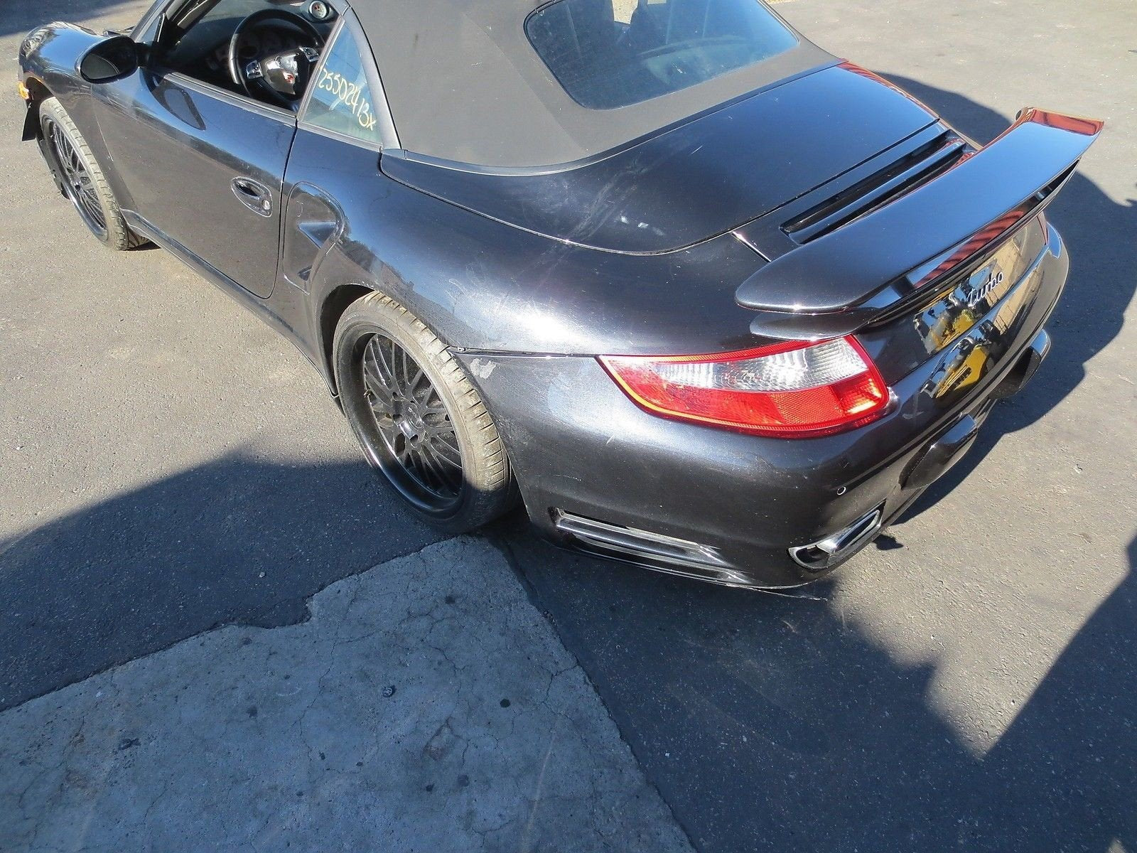 08 Porsche 911 Carrera Convertible TURBO 997 Parting Out car parts part 14,509