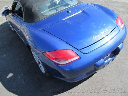 09 Boxster S RWD Porsche 987 Parting Out car parts 48,476