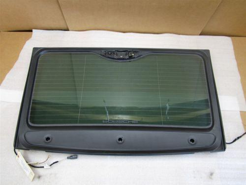 09 Cayenne S AWD Porsche 957 REAR WINDSHIELD Glass 7L5035570A 62,629