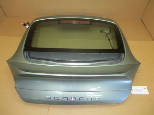 10 Panamera S 970 Porsche REAR EXTERIOR HATCH TRIM + WINDOW 97054511137 95,439