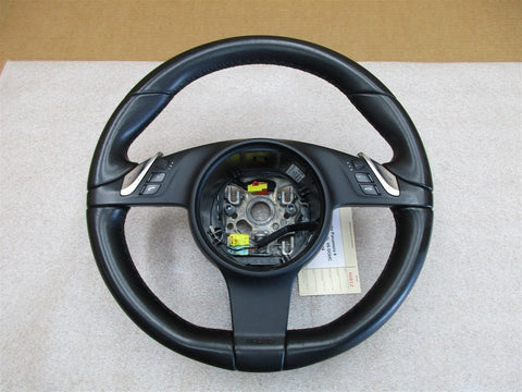04 Cayenne S Porsche 955 Black Leather 3 Spoke STEERING WHEEL 7L5419091 88,330