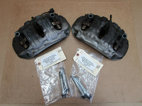 04 Cayenne Turbo AWD Porsche 955 FRONT BREMBO BRAKE CALIPERS 18ZL 18ZR 59,535