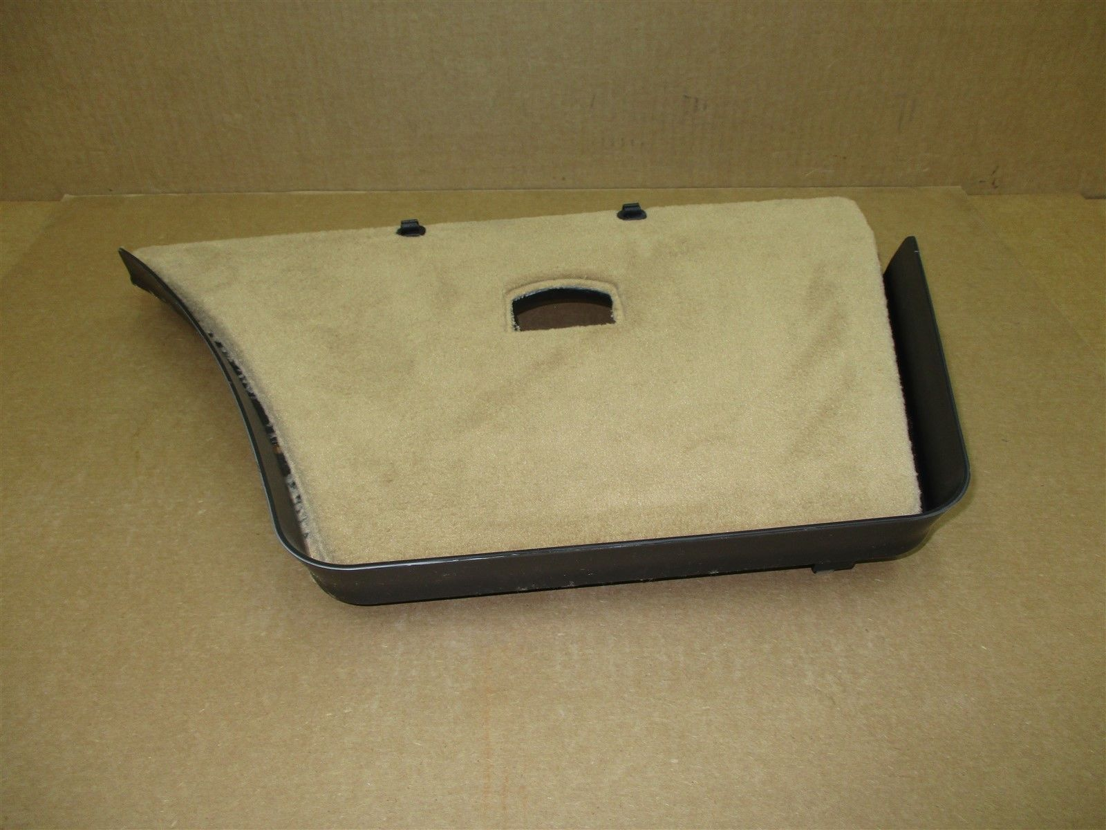 11 Panamera 4 AWD 970 Porsche L REAR FLOOR CARPET TRIM 97055105500 46,434