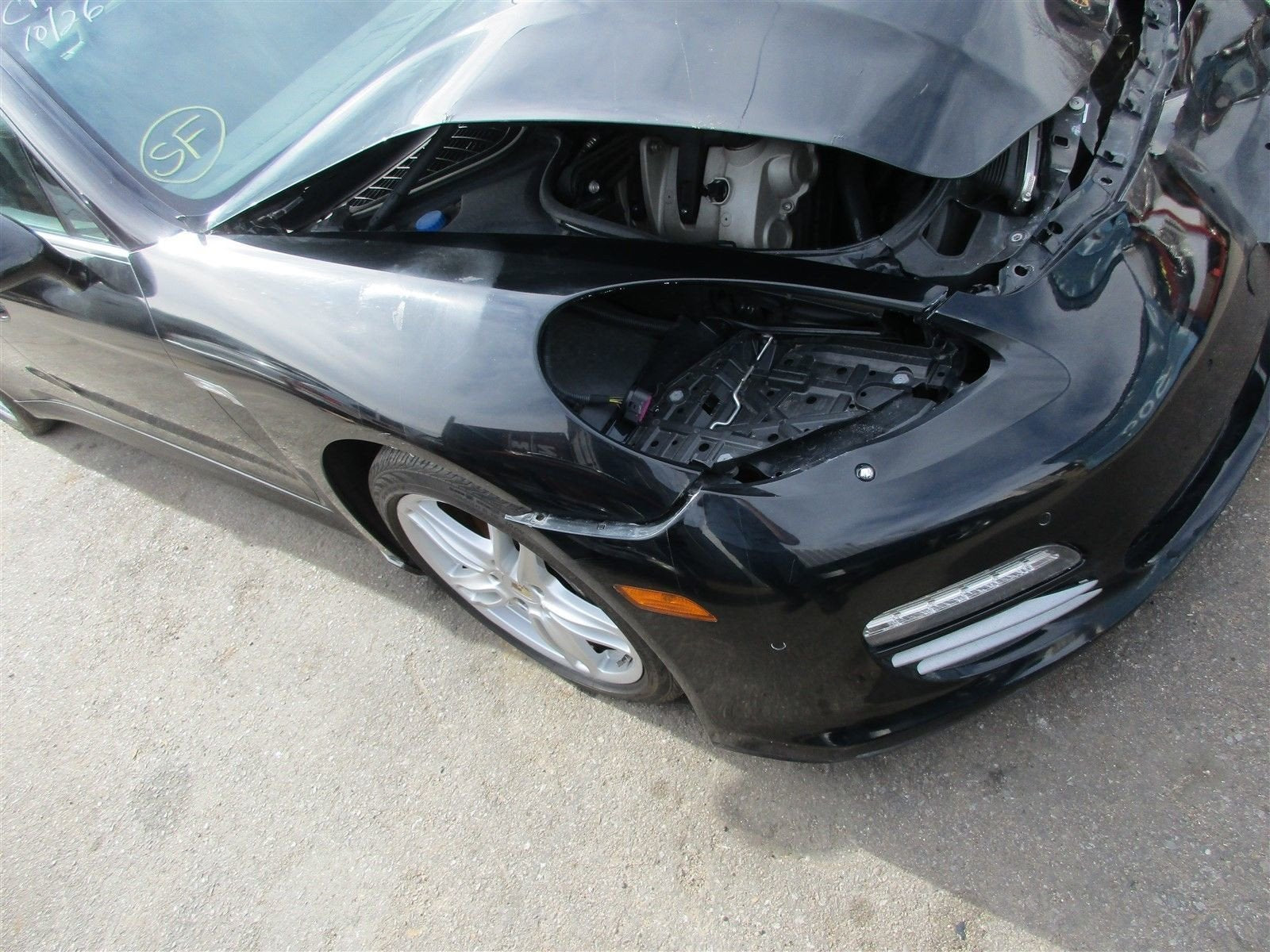 11 Panamera 4 AWD 970 Porsche Parting Out parts car 79,843