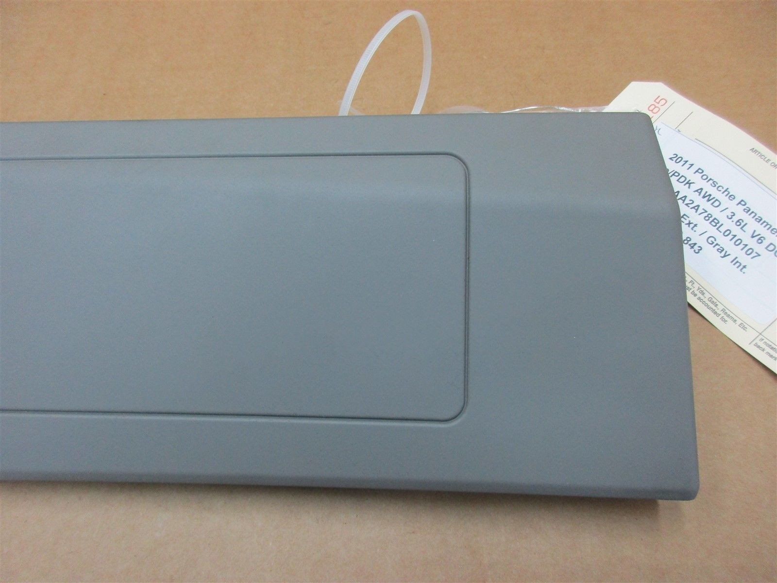 11 Panamera 4 AWD 970 Porsche R Gray DASH BOARD AIR BAG 97080306204 79,843