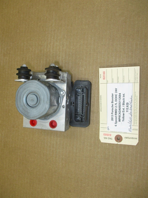 13 Boxster RWD Porsche 981 ANTI LOCK ABS BRAKE PUMP 98135575501 112,629
