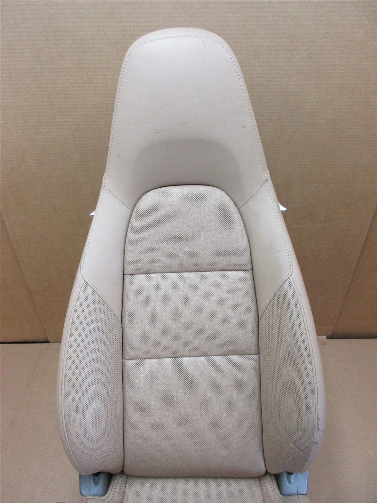 13 Carrera 911 RWD Porsche 991 Cabrio L FRONT 4-WAY Beige Leather SEAT 33,116
