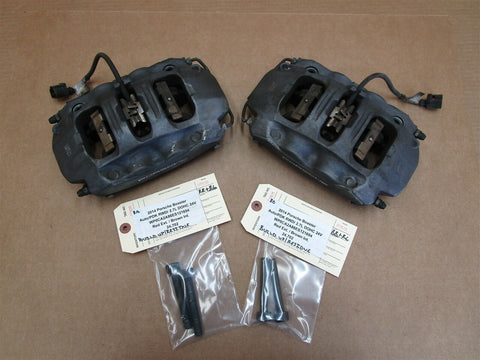 04 Cayenne S Porsche 955 REAR BREMBO BRAKE CALIPERS 207673033 207673041 146,861
