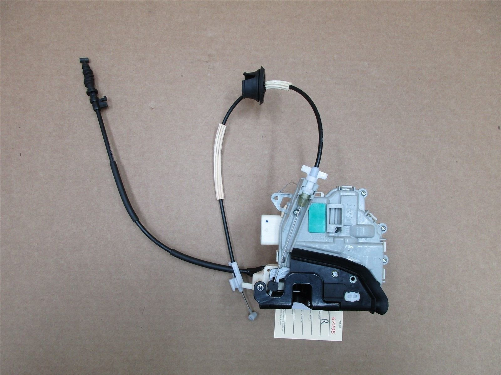 14 Cayman RWD Porsche 981 R DOOR Lock Latch ACTUATOR 8J1837016D RIGHT 15,832
