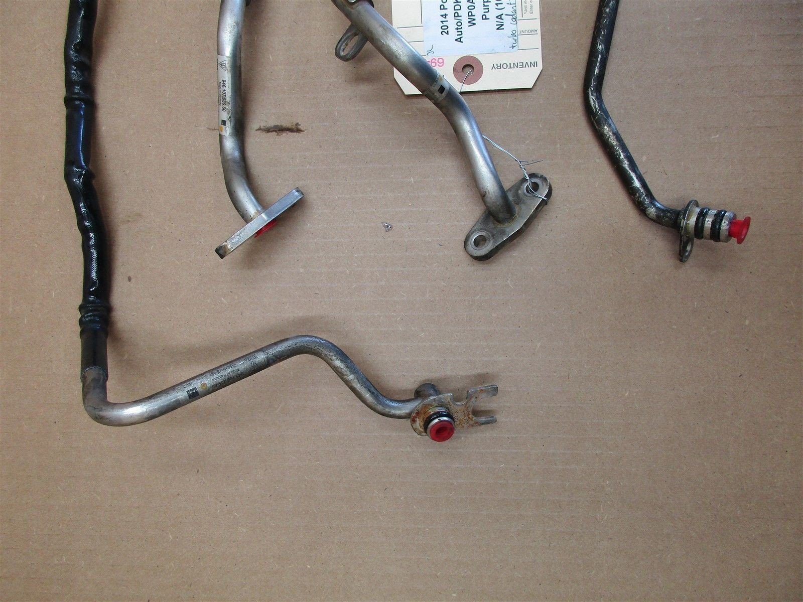 14 Panamera 4S Turbo 970 Porsche Engine 3.0 L R COOLANT PIPES 94610623760 16 N/A