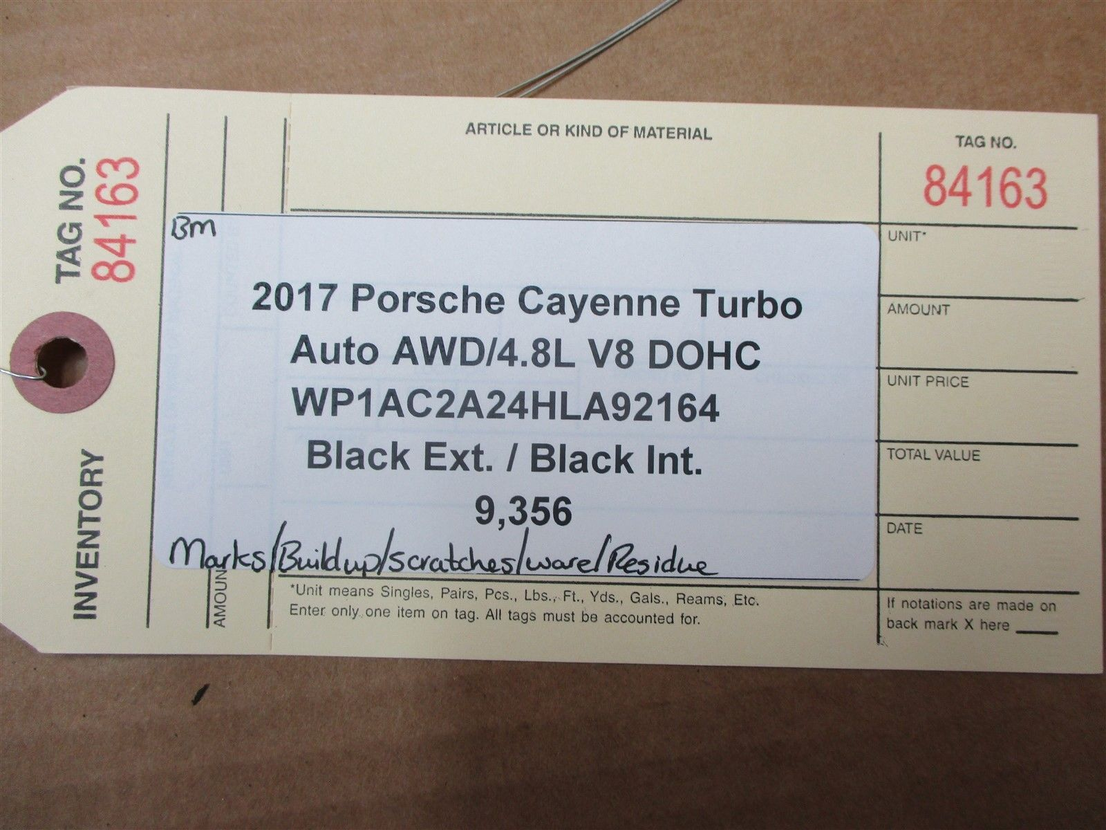 17 Cayenne Turbo AWD Porsche 958 6 BOOKLETS 1 OWNER'S MANUAL Black CASE 9,356