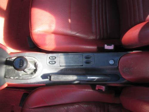 97 Boxster RWD Porsche 986 Parting Out car parts 72,115