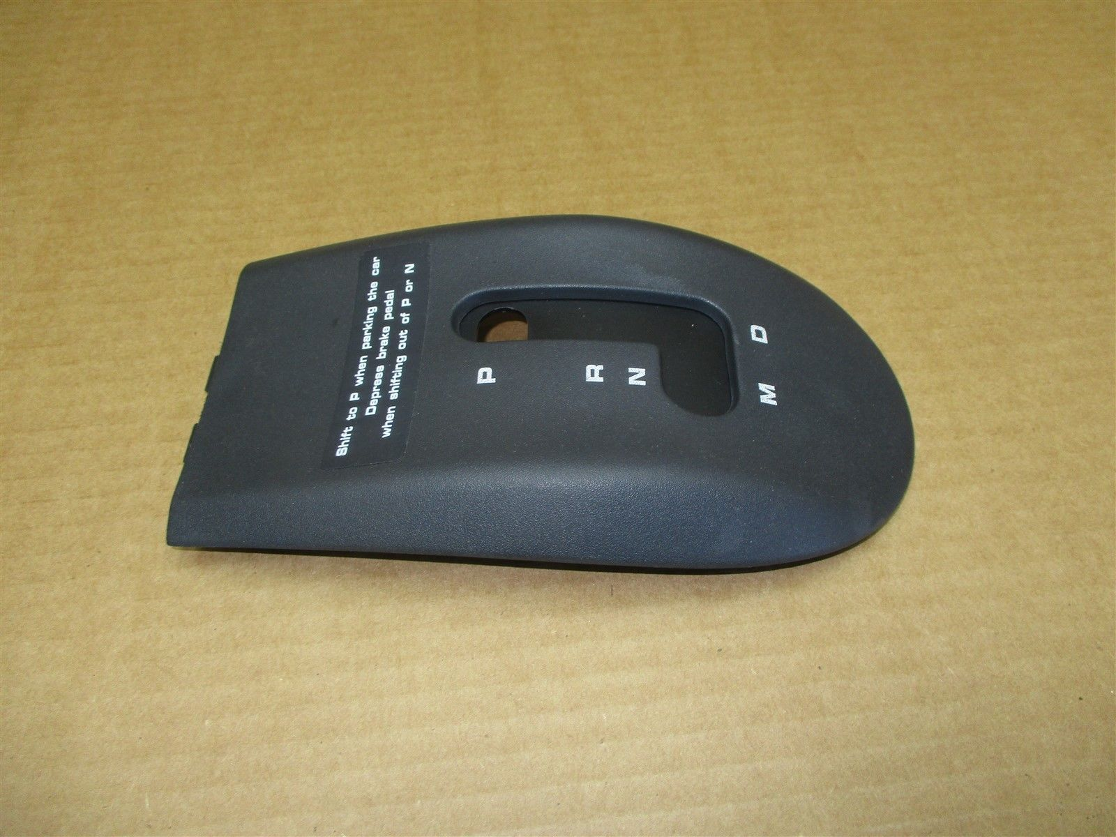 97 Boxster RWD Porsche 986 SHIFT KNOB TRIM COVER 996552657Z0 86,505