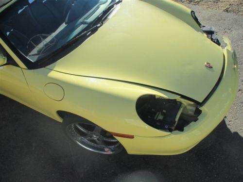 98 Boxster RWD Porsche 986 Parting Out car parts 46,742