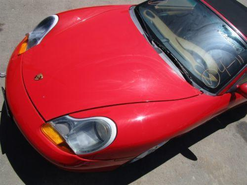 98 Boxster RWD Porsche 986 parts car 180,871