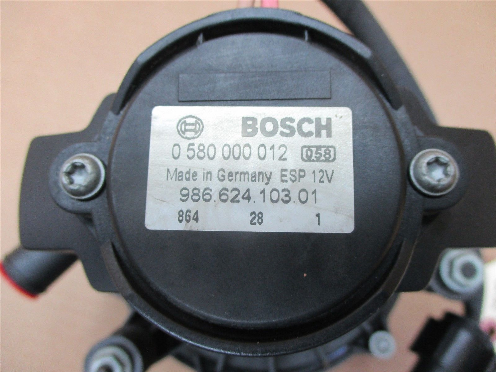 99 Boxster RWD Porsche 986 BOSCH COLD AIR INJECTION PUMP 98662410301 53,269