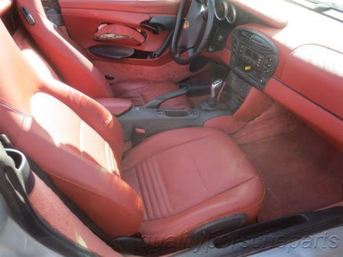 99 Boxster RWD Porsche 986 Parting Out car parts 34,401