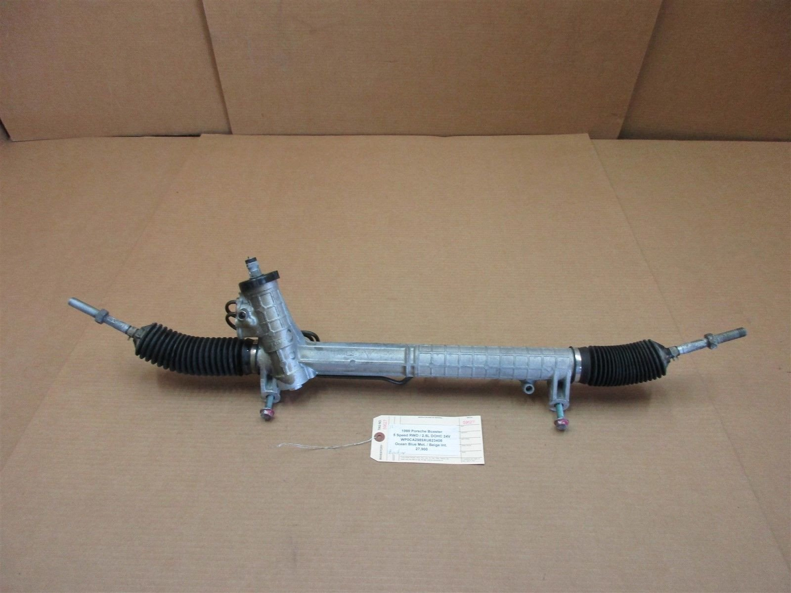 99 Boxster RWD Porsche 986 PINION POWER STEERING RACK 99634701105 27,900