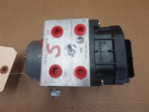 99 Carrera 911 RWD Porsche 996 Cabrio ABS BRAKE PUMP 99635575503 58,925