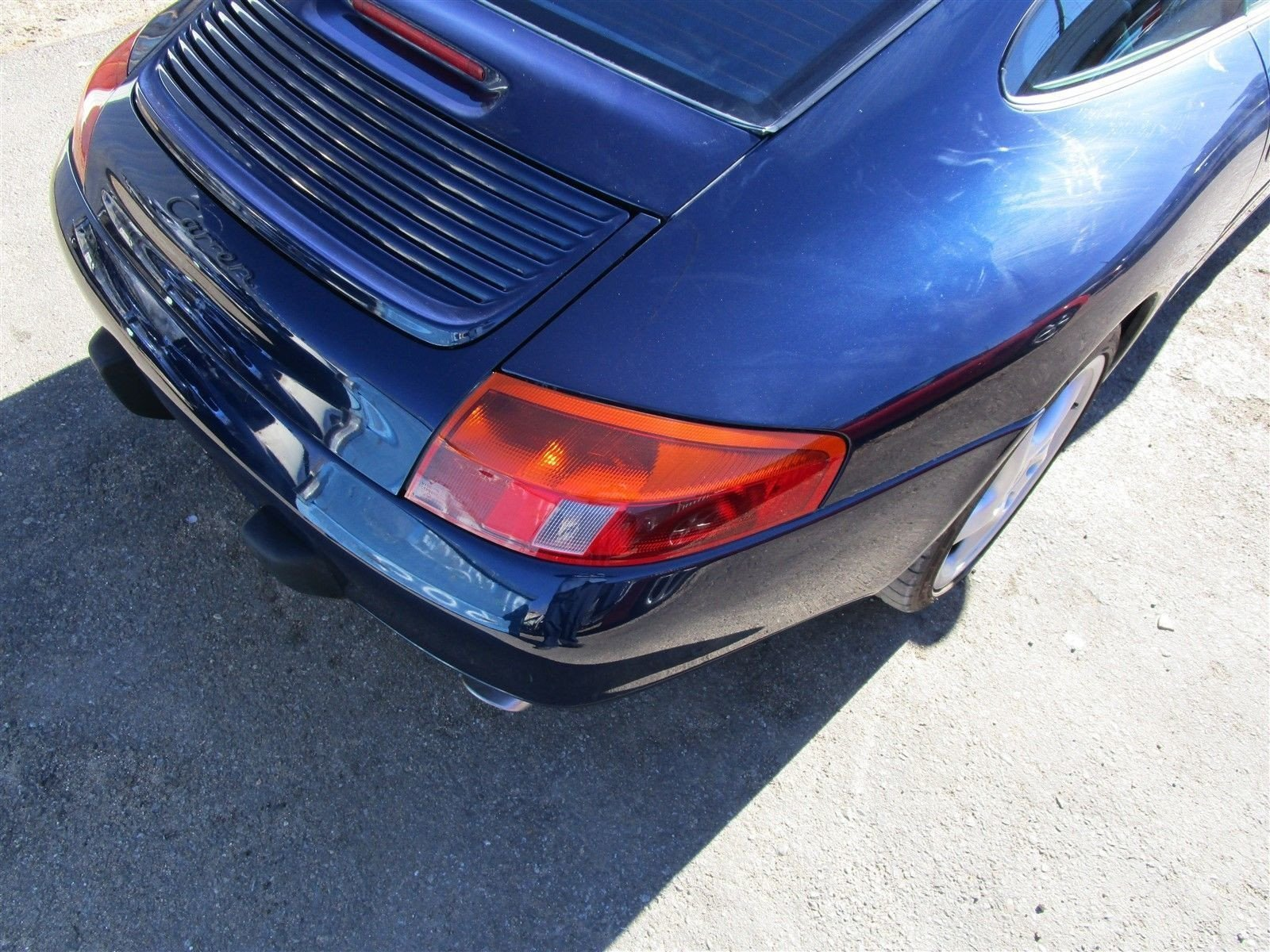 99 Carrera 911 RWD Porsche 996 Coupe Parting Out parts car 65,808