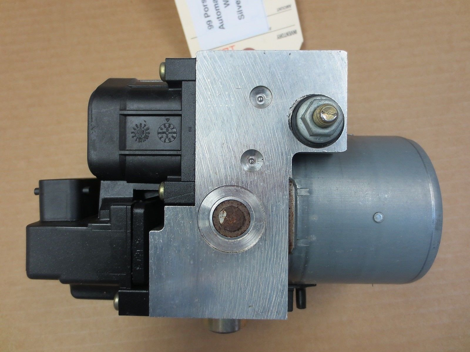 99 RWD Porsche 911 Carrera Coupe 996 ABS BRAKE PUMP 996.355.755.03 BOSCH 135k