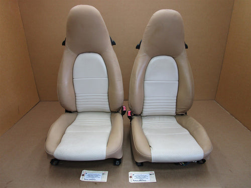 01 Boxster RWD Porsche 986 L R FRONT 8-WAY SEATS Leather 102,854