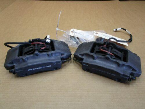 13 Boxster Porsche 981 REAR BREMBO BRAKE CALIPERS 997352421 997352422 112,629