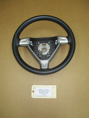 14 Cayenne S AWD Porsche 958 3 SPOKE STEERING WHEEL Brown 7PP419091CK 127,916
