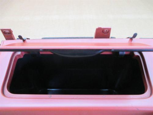 06 Cayman S RWD Porsche 987 L Red Rear STORAGE COMPARTMENT TRIM 987555071 57,555